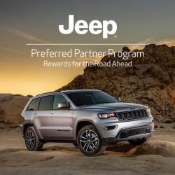 Jeep Preferred Partner Program - Enjoy exclusive offers on the Jeep range